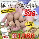 送料無料 鹿児島県種子島産 濃厚な味わいの『安納芋』(訳あり/極小サイズのみ)うれしい5kg