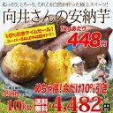 送料無料 鹿児島県種子島産 濃厚な味わいの『安納芋』(訳あり・無選別)メガ盛り10kg