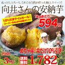 送料無料 鹿児島県種子島産 濃厚な味わいの『安納芋』(訳あり・無選別)3kg
