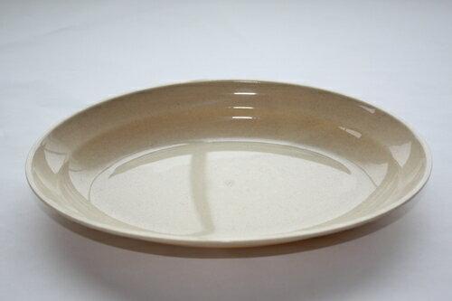 PC小判皿(カレー皿) ベージュ