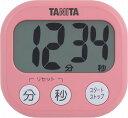 【送料無料メール便専用】 タニタ でか見えタイマー フランボワーズピンク TD-384PK