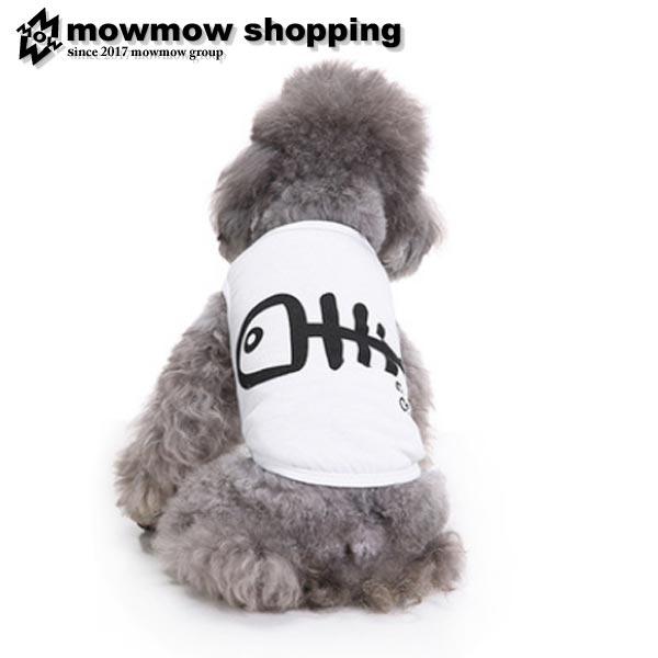 犬服犬服夏用クールタンクトップシャツつなぎ春夏ペット服かわいい魚おしゃれペット用品インスタ映え小型犬