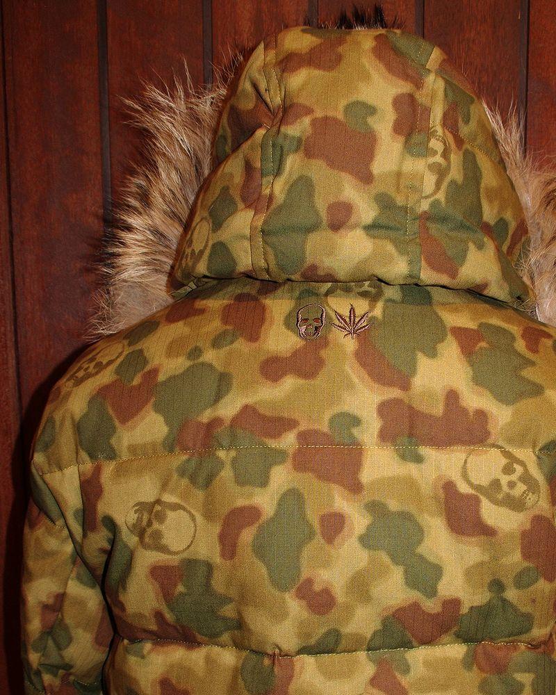 "�ڥ륷����ڥ�ե��ͥ����롦����ե顼��������㥱�åȡۡ�lucienpellat-finet""Skull-Camouflage-DownJacket�ۡ�P15Aug15��"