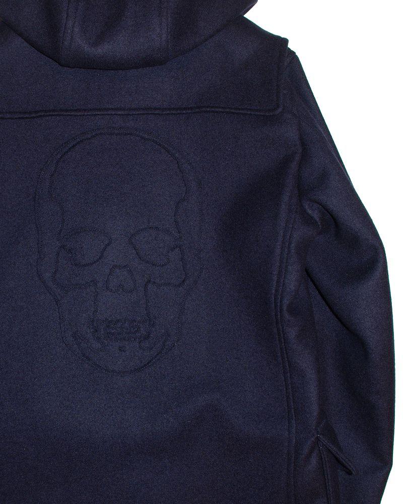 """�ڥ륷����ڥ�ե��ͥ�������åե륳���ȡۡ�lucienpellat-finet""""Skull-DuffelCoat/Navy�ۡ�P15Aug15��"""
