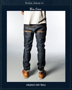 """ヌーディージーンズNudieJeans【シンフィン""""オーガニック・ドライツイル""""L/32】【ThinFinn""""Org.Dry.Twill】"""