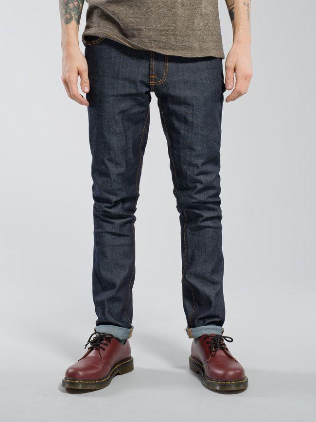 "【NudieJeans""LeanDean/Dry16Dips/L32】【ヌーディージーンズ""リーンディーン""ドライ】"