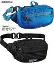 パタゴニア ライトウェイト・トラベル・ミニ・ヒップ・パック 1L Patagonia LW Travel mini hippack