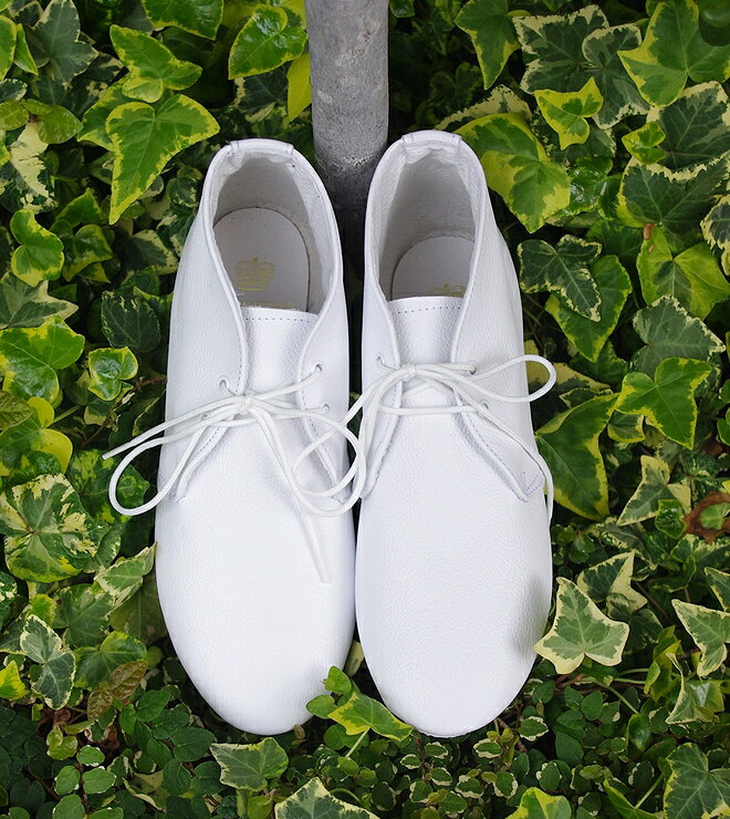 "CROWN-2EYELET.JAZZ.SHOES/WHITE�ڱѹ����ߥåɥ��åȡ����㥺���塼��""���饦��/�ۥ磻�ȡۡ�02P11Apr15��"