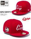 ニューエラ 59FIFTY NPB 広島カープ 限定モデル OLD SCRIPT スカーレットHIROSHIMA CARP ベースボールキャップ