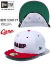 ニューエラ 59FIFTY NPB 広島カープ 限定モデル CARP ホワイト HIROSHIMA CARP ベースボールキャップ