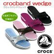 クロックス crocs【crocband wedge/クロックバンドウェッジ】【クロックス国内正規取り扱い】