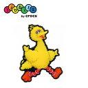 ショッピングcrocs クロックス crocs ジビッツ【Sesame Street ビッグバード/セサミストリート】【クロックス国内正規取り扱い】