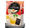 【4,900円以上ご購入で送料無料!】日東紅茶 厳選果汁のとろける白桃 10本入り/1袋