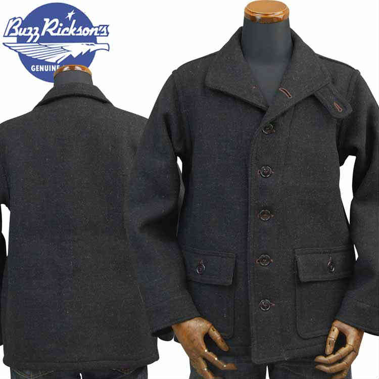 バズリクソンズBUZZ RICKSON'S サブマリナーコート SUBMARINE CLOTHING WINTER WOOLEN「 BR13877」
