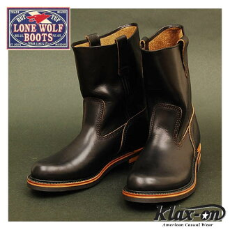 ロンウルフ ( LONEWOLF ) boots farmer ( FARMER ) LW00124-black ◆ Oriental Enterprise / casual / mens ◆