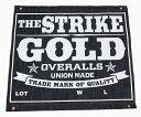☆デニムの聖地、岡山倉敷発のデニムブランド☆ストライクゴールド(THE STRIKE GOLD) デニムバナー「SG-BANNER」