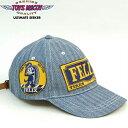 TOYS McCOYトイズマッコイ ヘリンボーンデニムキャップ HERRINGBONE DENIM CAP FELIX THE CAT「FELIX TIRES and TUBES」TMA1619