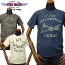TOYS McCOYトイズマッコイ ミリタリーTシャツ BIGGSビッグス A.A.F.「B-17 FLYING FORTRESS」 TMC1628/アメカジ/メンズ/