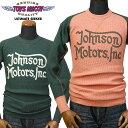 トイズマッコイTOYS McCOY サーマルロングスリーブTシャツ 「JOHNSON MOTORS,INC.」TMC1364/アメカジ/メンズ