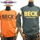TOYS McCOYトイズマッコイ McHILL SPORTS FOOTBALL SHIRTフットボールシャツ FELIX THE CAT「BECK HARD RIDE」TMC1739