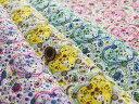 【布帛 キルト生地★ハートとパンダ】コットンこばやし ハートとパンダがかわいいキルティング生地【50cm単位】(yy-52)