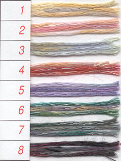 ハマナカ毛糸 リネンフローリアの紹介画像2