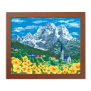 オリムパス クロスステッチ刺繍キット ワールドセレクション アルプスの山並み(スイス)