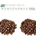 キリマンジャロセット 500g 送料無料 スペシャルティ コーヒー豆 ブレンド シングルオリジン