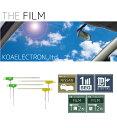 車載用地デジフィルムアンテナ4枚【ニッサン純正ディーラーオプションナビMM113D-W対応】|KF03-4