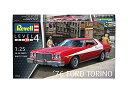 【中古】ドイツレベル 1/25 1976年 フォード トリノ プラモデル 07038