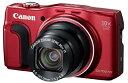 【中古】Canon デジタルカメラ Power Shot SX700 HS レッド 光学30倍ズーム PSSX700HS(RE)