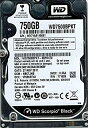 【中古】Western Digital wd7500bpkt-00pk4t0?750?GB DCM : hbctjhb