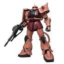 【中古】MEGA SIZE MODEL 機動戦士ガンダム MS-06S シャア・アズナブル専用ザクII 1/48スケール 色分け済みプラモデル