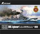 【中古】フライホークモデル 1/700 イギリス海軍 HMS 戦艦 エジンコート プラモデル