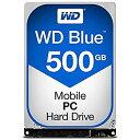 【中古】WESTERN DIGITAL WD Blueシリーズ 2.5インチ内蔵HDD 500GB SATA 5400rpm7mm厚 WD5000LPCX AV デジモノ パソコン 周辺機器 その..