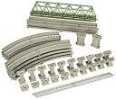 【中古】TOMIX Nゲージ レールセット 立体交差化セット Cパターン 91027 鉄道模型 レールセット