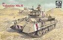 【中古】AFVクラブ 1/35 歩兵戦車 バレンタインMk.II 35185 プラモデル