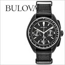 �ӻ��� BULOVA Special Edition Moon Chronograph Watch �ࡼ�󥦥��å� 98A186 ��� �쥶���٥�ȡ����������եȥ�åԥ�̵���� ��󥺻��סڥ���ӥ˼����б����ʡ�