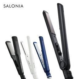 【SALONIA ストレートヘアアイロン 15mm 24mm 35mm 】 ヘアーアイロン サロニア 海外対応 1年保証 <strong>ポーチ</strong> hk