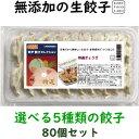 美味しい無添加餃子5種類から選べる冷凍生餃子お得な餃子4パッ...