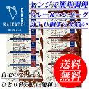 《送料無料》ビーフカレー中辛&煮込みハンバーグ 各5個自宅用北海道・沖縄は別途送料