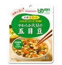 和光堂 ユニバーサルデザインフード 食事は楽し やわらか大豆の五目豆 HA12
