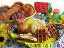 【ポイント13倍相当】株式会社コモおいしさ長持ちコモのパン選べる5種類×12個=60個【RCP】