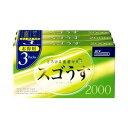 【ポイント13倍相当】ジェクススゴうす 2000(12コ入×3パック)