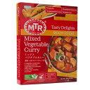 MTR ミックス ベジタブル カレー Mixed Vegetable Curry  300g 1袋 ゆうメール便対応 日本正規販売店【レトルトカレー】【ベジタリアン】【野菜】【ヘルシー】【インドカレー】【業務用】【インド】【スペイン】【中華】【イタリア】【スパイス】【神戸スパイス】