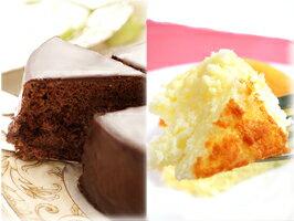あす楽送料無料フルサイズザッハトルテ&スフレチーズケーキバースデーケーキ誕生日ケーキ神戸スイーツ20