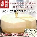 2種類のチーズ【ドゥーブルフロマージュ】(Wチーズ)バースデーケーキ 誕生日ケーキ