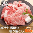 【父の日 ギフト に◎ 】神戸牛 霜降り 切り落とし肉 500g(冷蔵)【あす楽対応】【ギフト 内祝