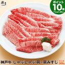 神戸牛 しゃぶしゃぶ肉 肩・肩みすじ 500g(冷蔵)