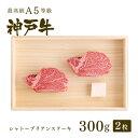 【神戸牛 贈り物に】ギフトにも!【特選A5等級】神戸牛シャトーブリアン(フィレ)ステーキ300g(2枚)